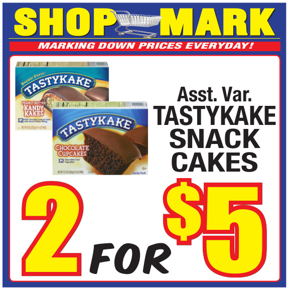 7 tasty cakes Shop Mark July Signs 10-32x32 Signs